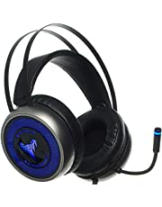[Upgraded 2020] Gaming Headset IMBA V8 for 3D Surround Sound, PS4 Xbox One Headset | Noise Cancelling Mic Chat Headset, Over-Ear Gaming Headphones for PC, Xbox One, PS3, PS4, Nintendo Switch