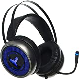 [Newest 2019] Gaming Headset for Xbox One, S, PS4, PC with LED Soft Breathing Earmuffs, Adjustable...