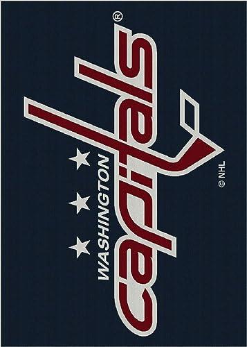 Milliken Washington Capitals NHL Team Spirit Area Rug, 5 4 by 7 8
