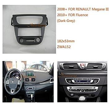 Autostereo 11-152 - Kit adaptador de embellecedor para radio de RENAULT Megane III 2008