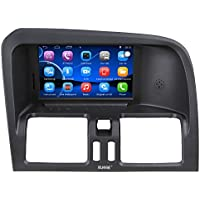 Rupse For 2008 2009 2010 2011 Volvo XC60 Car Multimedia Navigation System With Android 4.4.4 System Multi-Touch Screen Bluetooth Music Hands-free Function