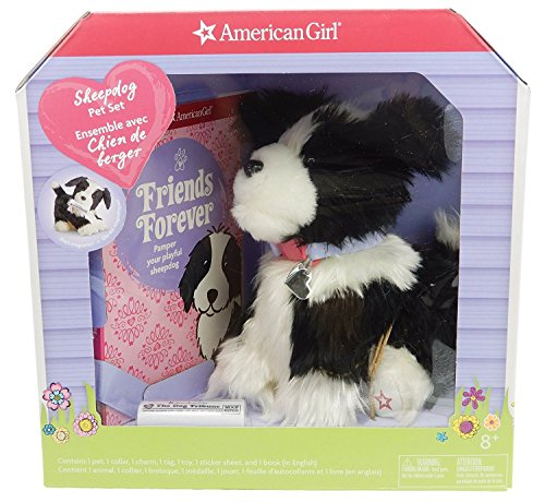 [American Girl Sheepdog Pet Set] (Snuggles Bear Halloween Costume)