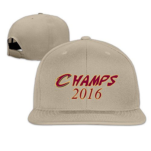 Show Time Champs 2016 Logo Brim Hat Adjustable Flat Bill Cap Natural