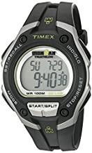 Timex Men's T5K412 Ironman Classic 30 Oversized Black/Silver-Tone Resin Strap Watch