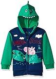(US) Peppa Pig Toddler Boys' George Pig Costume Hoodie, Navy, 3T