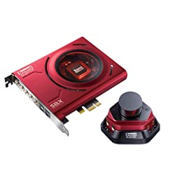 Creative Sound Blaster Zx Pcie Gaming Sound Card With High Performance Headphone Amp & Desktop Audio Control Module