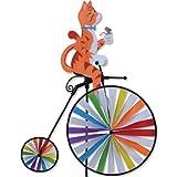 High Wheel Bike Spinner - Cat by Premier Kites