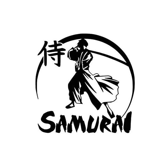 Gsdxz 13 2X13 1Cm Etiqueta Engomada Del Coche Ninja Samurai ...