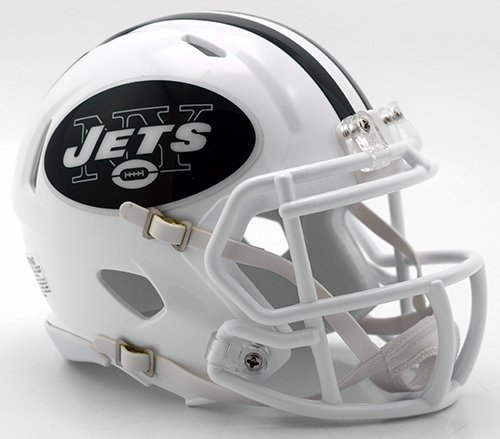 NEW YORK JETS NFL Riddell SPEED Full Size REPLICA Football Helmet COLOR RUSH by Riddell