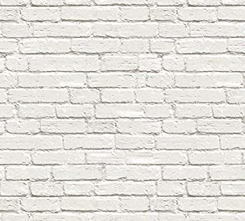 Buy Glowvia White Bricks Wallpaper For Wall Modern White Bricks Design Wallpaper For Home Office Living Room Hotel Café Size 57 Sqft Online At Low Prices In India Amazon In