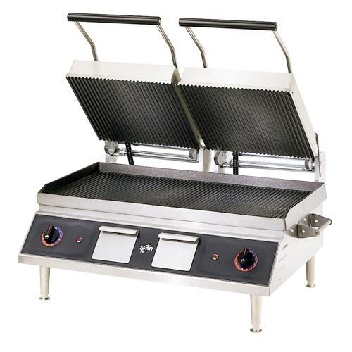 Star CG28IB - Pro-Max 28 in Grooved Sandwich Grill