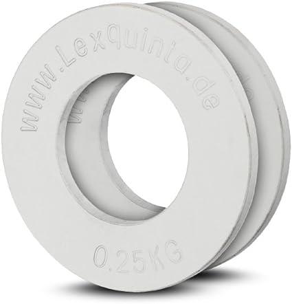 Lex Quinta Fractional Plate 2 x 0,25kg 1 Paar Für 50mm Hanteln