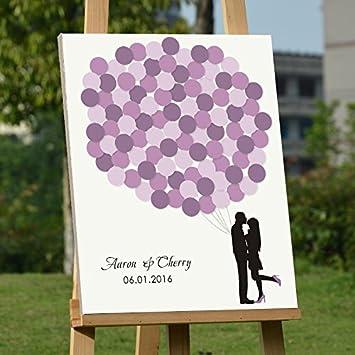 Amazon De Personalisierte Hochzeit Gastebuch Unique Love Gastebuch