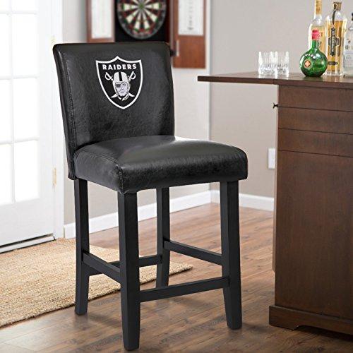 Oakland Raiders Bar Stool, Raiders Bar Stool, Raiders Bar