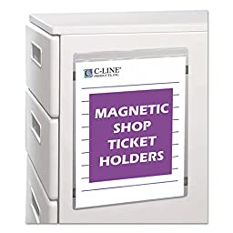 CLI83912 - Magnetic Shop Ticket Holder
