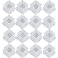 VILLCASE Meubelsiliconen beschermhoes 32 stuks stoelpootdoppen silicone beschermkappen meubels stoelpootdoppen voorkomen…