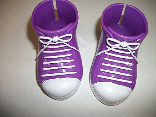 Power Rangers Dressing Up (High Top Purple Shoes that Fits All 18 Inch Dolls 3.4 inchs Long)