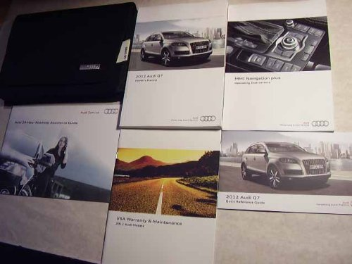 Galleon 2012 Audi Q7 Q 7 Owners Manual
