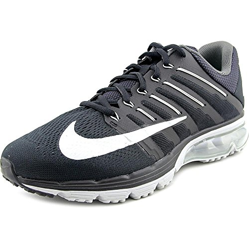 fbb80252cb Galleon - Nike Mens Air Max Excellerate 4 Running Shoe (10.5, Black/White/ Dark Grey)