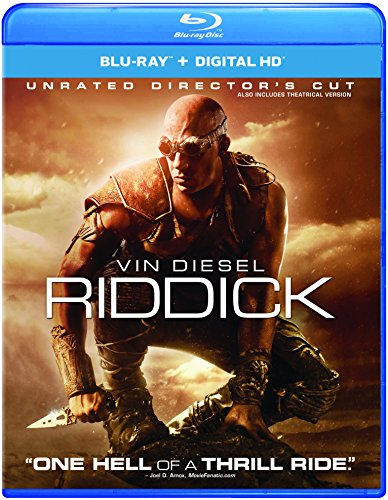Riddick (Ultraviolet Digital Copy, Snap Case, Digital Copy, Digitally Mastered in HD)