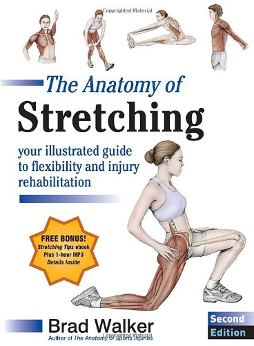 Anatomy Stretching Second Illustrated Rehabilitation product image