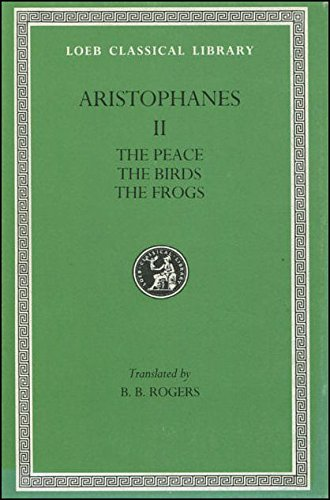 aristophanes the birds essay A short analysis of aristophanes' lysistrata apr 18 posted by  this suggests that aristophanes seeks to play out the 'battle of the sexes' and to present the two genders side by side in.