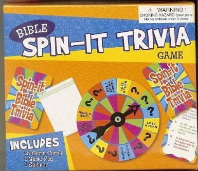 Bible Spin It Trivia