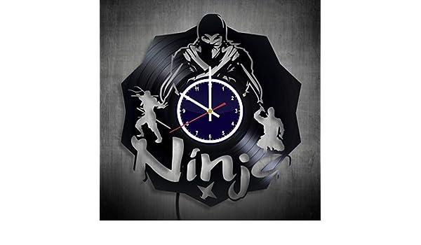 Amazon.com: Ninja Gifts for Men Clock Night light - ninja ...