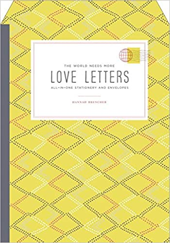 The World Needs More Love Letters All-in-One Stationery and