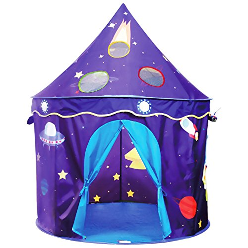 Eggsnow Kids Play Tent Castle Play Tent for Boys and Girls,Folding Toddler Tent for Indoor and Outdoor Fun Plays-Upgraded (Toddler Girls Play Tent)