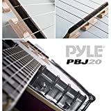Pyle PBJ20 8-String 23-Inch Total Length Mandolin-Banjo Hybrid with White Jade Tuner Pegs, Rosewood Fretboard