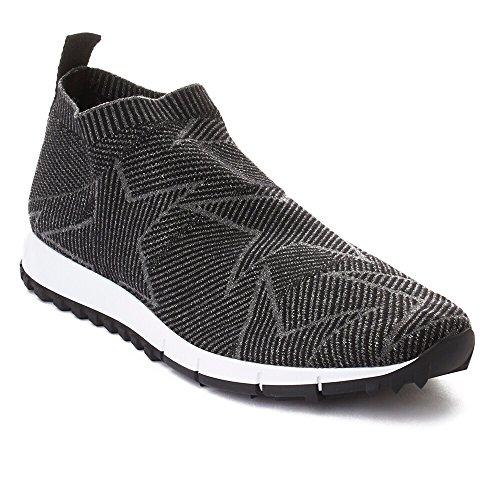 Sneaker Jimmy Choo Womens Norway Knit Slip-on Running Nera