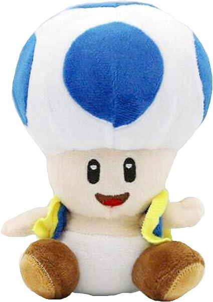 Amazon Com Meijiada Super Mario Bros Blue Toad Brigade Mushroom