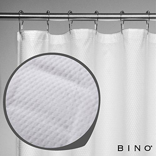 BINO 'Belgian' Fabric Shower Curtain - 70