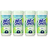 Wet Ones Sensitive Skin Hands & Face Wipes, 40 Count Canister