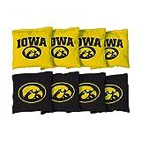 NCAA Replacement All Weather Cornhole Bag Set NCAA Team: Iowa Hawkeyes