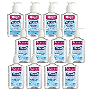 Purell Advanced Hand Sanitizer Refreshing Gel 8 Fl Oz Hand