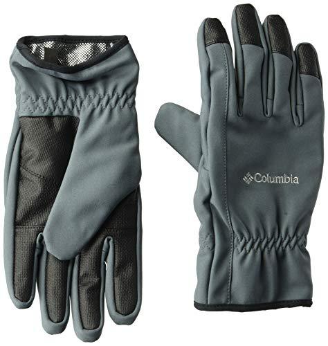 Columbia Men's Northport Insulated Softshell Glove, Graphite, Small