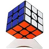 OJIN Qiyi Valk 3 El Valk 3 Speed Cube Puzzle 3x3x3 3 Capa Smooth Puzzle Toy con un trípode Cube (Negro)