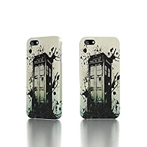 Apple iPhone 4 / 4S Case - The Best 3D Full Wrap iPhone Case - Tardis galaxy case Doctor Who