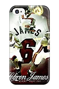 TYH - 7156539K61007396 New Cute Funny Lebron James Case Cover Iphone 4/4s Case Cover phone case