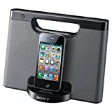 Sony RDPM7IP 30-Pin iPhone/iPod Portable Speaker Dock (Silver)