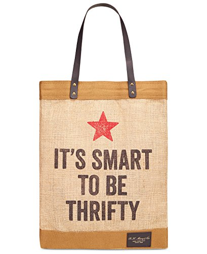 Macy's Vintage Thrifty Tote Shopping Bag - It's Smart to Be - Shopping Macy's