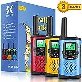 Best Kid Walkie Talkies - Walkie Talkies for Kids 3Pack, 22 Channels 2 Review