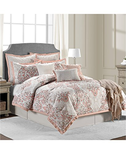 Sunham Home Fashions - Sunham Home Fashions Cambridge Comforter Set, Full, Multicolor