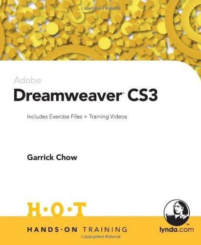 Adobe Dreamweaver CS3 Hands-On Training -