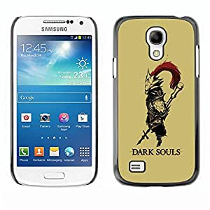 Be Good Phone Accessory // Dura Cáscara cubierta Protectora Caso Carcasa Funda de Protección para Samsung Galaxy S4 Mini i9190 MINI VERSION! // Dark Soul