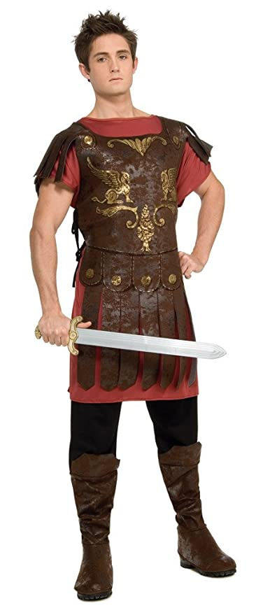 Rubbies - Disfraz de gladiador para hombre, talla 42-44 (888418STD)