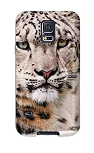 9796996K98615070 New Super Strong Snow Leopard Tpu Case Cover For Galaxy S5