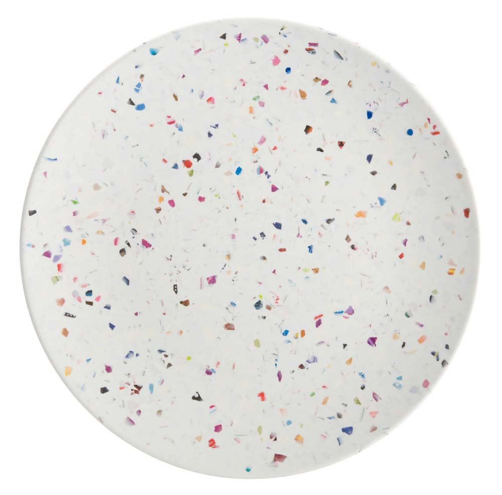 Amazon.com | Zak Designs Confetti 9-Inch Recycled-Melamine Salad Plate Eggshell White Dinner Plates  sc 1 st  Amazon.com & Amazon.com | Zak Designs Confetti 9-Inch Recycled-Melamine Salad ...